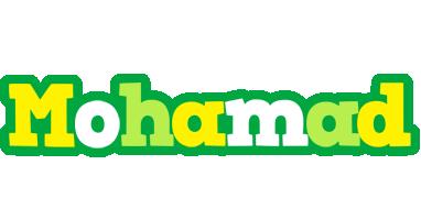 Mohamad soccer logo
