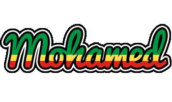 Mohamed african logo