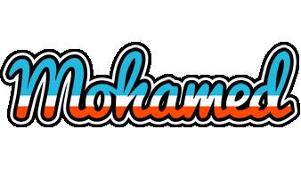 Mohamed america logo