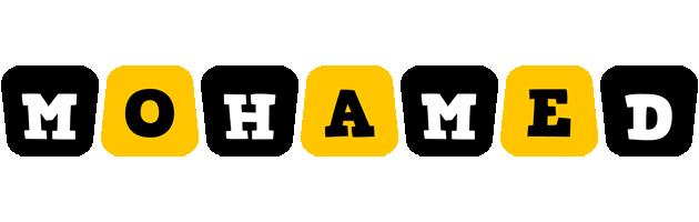 Mohamed boots logo