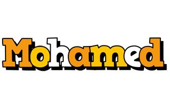 Mohamed cartoon logo