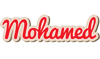 Mohamed chocolate logo