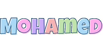 Mohamed pastel logo