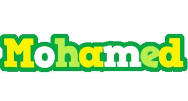 Mohamed soccer logo