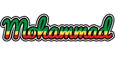Mohammad african logo