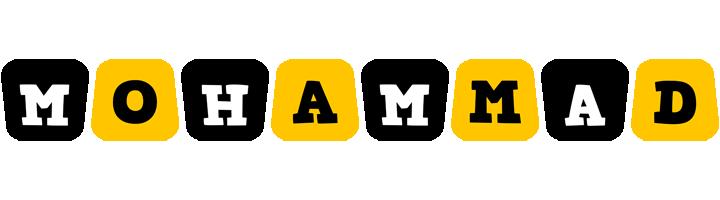 Mohammad boots logo