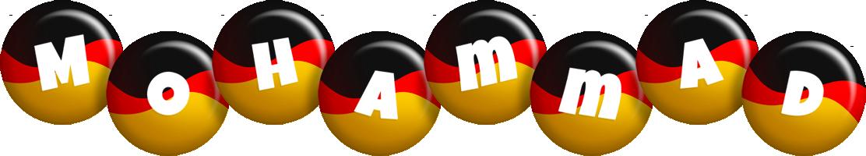 Mohammad german logo