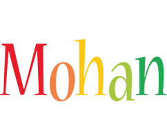 Mohan birthday logo