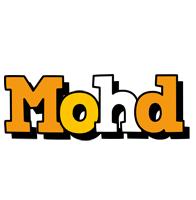 Mohd cartoon logo