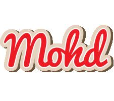 Mohd chocolate logo