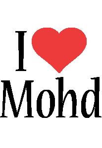 Mohd i-love logo