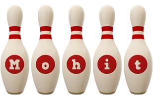 Mohit bowling-pin logo