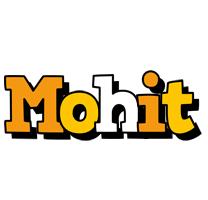 Mohit cartoon logo