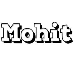 Mohit snowing logo