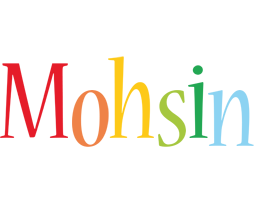Mohsin birthday logo