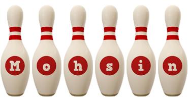 Mohsin bowling-pin logo