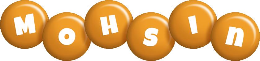 Mohsin candy-orange logo