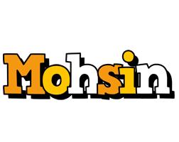 Mohsin cartoon logo