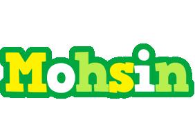 Mohsin soccer logo