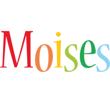 Moises birthday logo