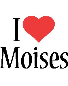 Moises i-love logo