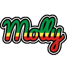 Molly african logo