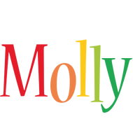 Molly birthday logo