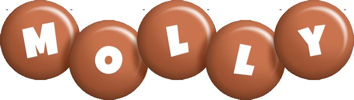 Molly candy-brown logo