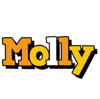 Molly cartoon logo