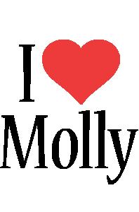 Molly i-love logo