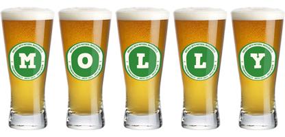Molly lager logo