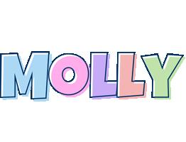 Molly pastel logo