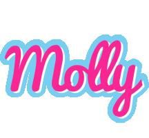 Molly popstar logo