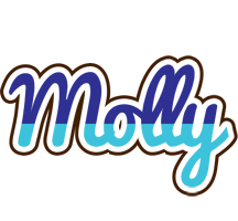 Molly raining logo