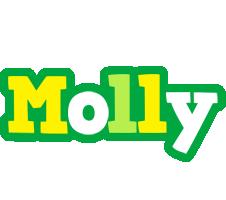 Molly soccer logo