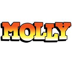 Molly sunset logo