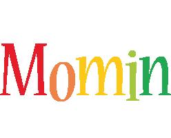 Momin birthday logo