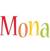 Mona birthday logo