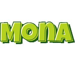 Mona summer logo