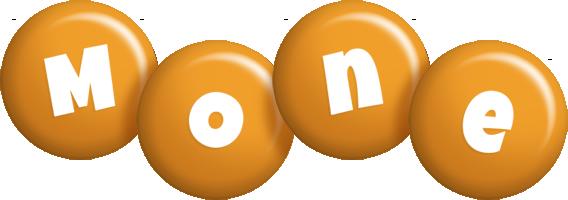 Mone candy-orange logo