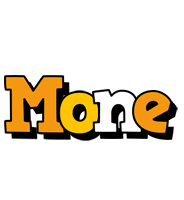 Mone cartoon logo