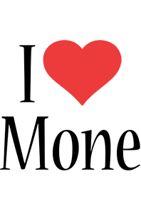 Mone i-love logo