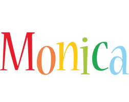 Monica birthday logo