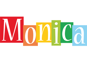 Monica colors logo