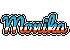 Monika america logo