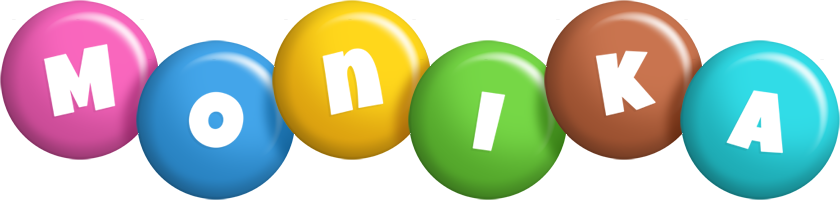 Monika candy logo