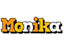 Monika cartoon logo