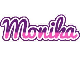 Monika cheerful logo