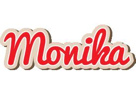 Monika chocolate logo