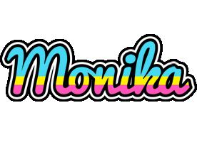 Monika circus logo